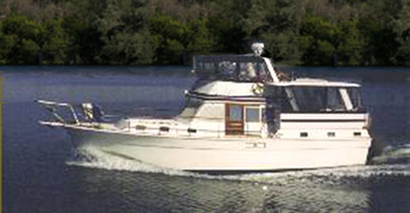 Gulf Star 44ft Motor Yacht American Boat Sales Quality