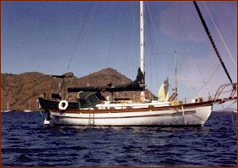 Union 36 Cutter Sailboat